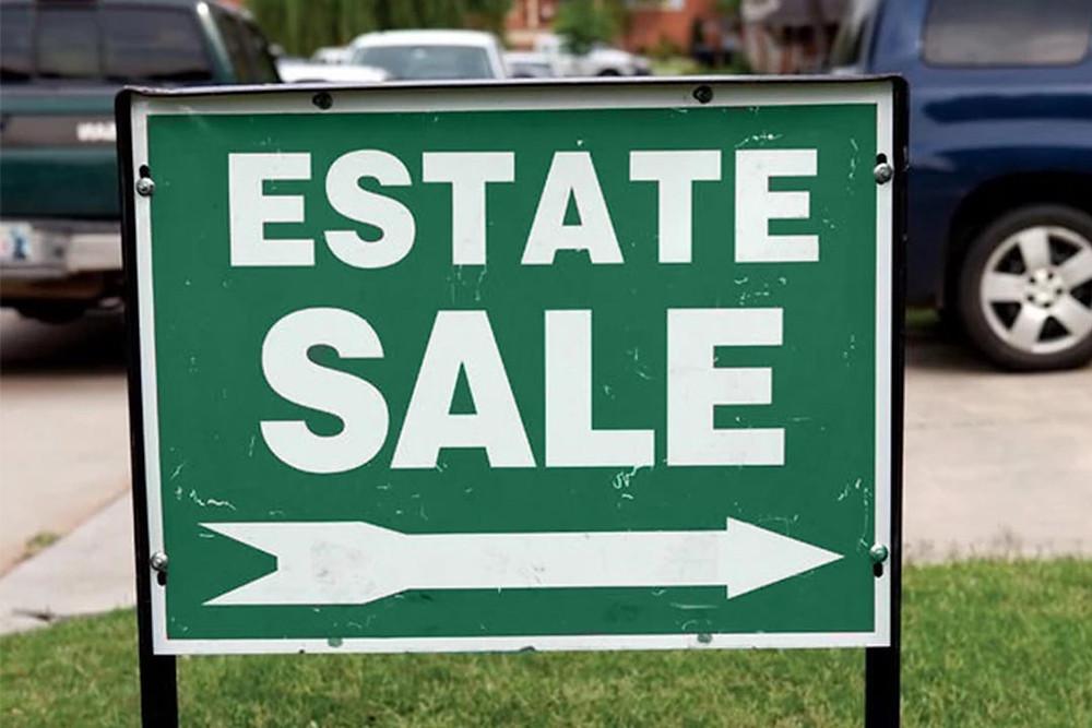 HR&A Estate Sale Sign