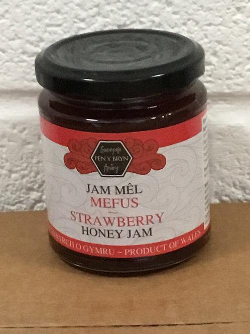 Honey strawberry jam - 227g