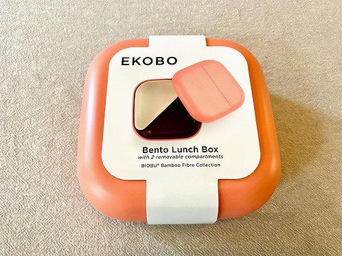 Bamboo Bento Box - Square - coral