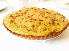 Polenta Quiche-gluten free