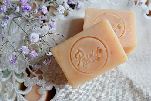 Calendula handmade soap