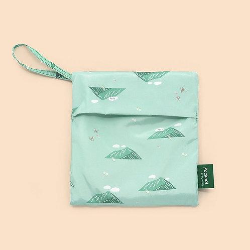 Pockeat Snack Bag - Green mountain