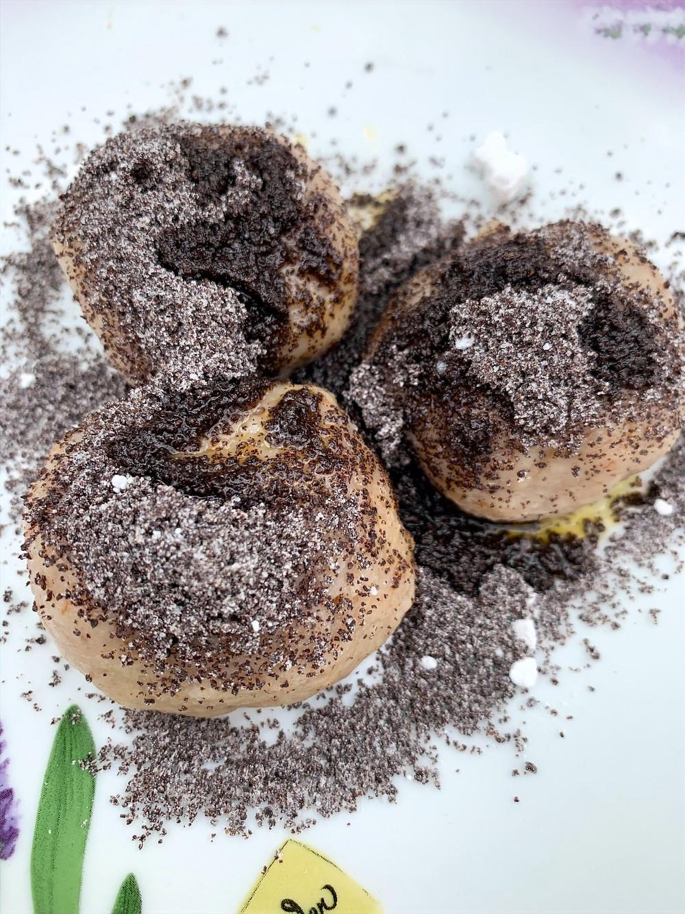Pure vegan diet | Apricot dumpling | Follow us to make this delicious dessert