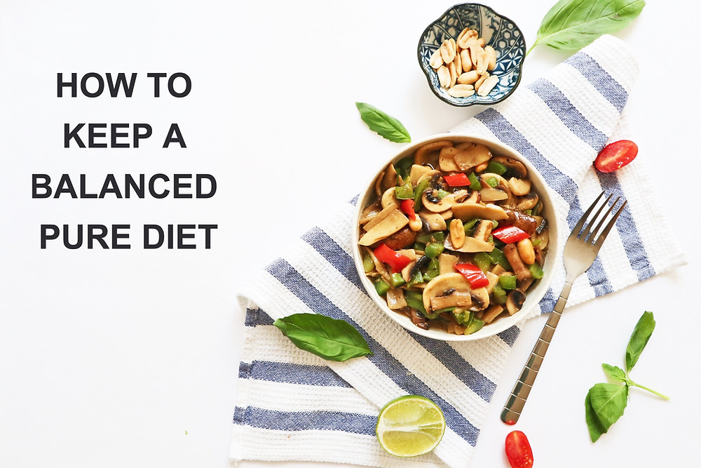 How to keep a balanced pure diet? How to eat when turned into a vegan diet? How to be a healthy vegan? The important information for people who wants to change the diet.
