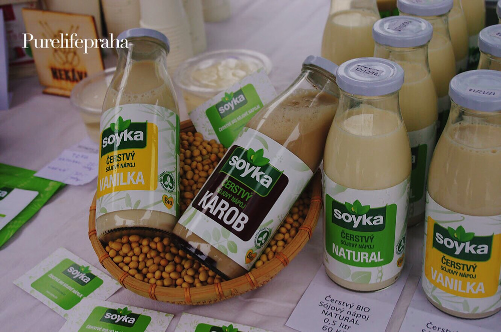 Vegan product | Soyka, a new soy-based brand that promotes and eco-friendly healthy lifestyle.