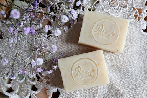 Lemon balm handmade soap