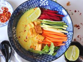 Krémová kokosová polévka