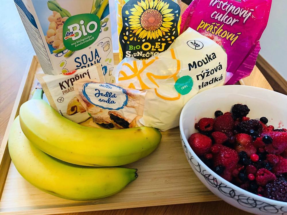 Pure vegan diet | fruit cake | gluten free