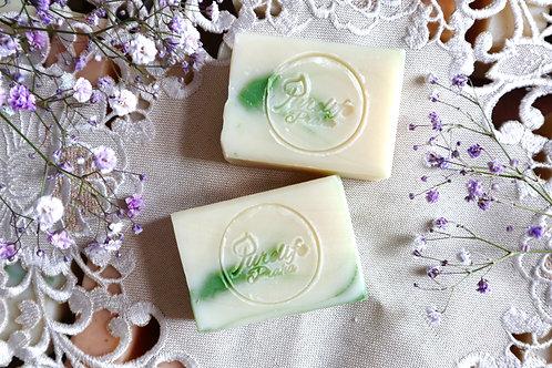 Tea tree oil handmade soap