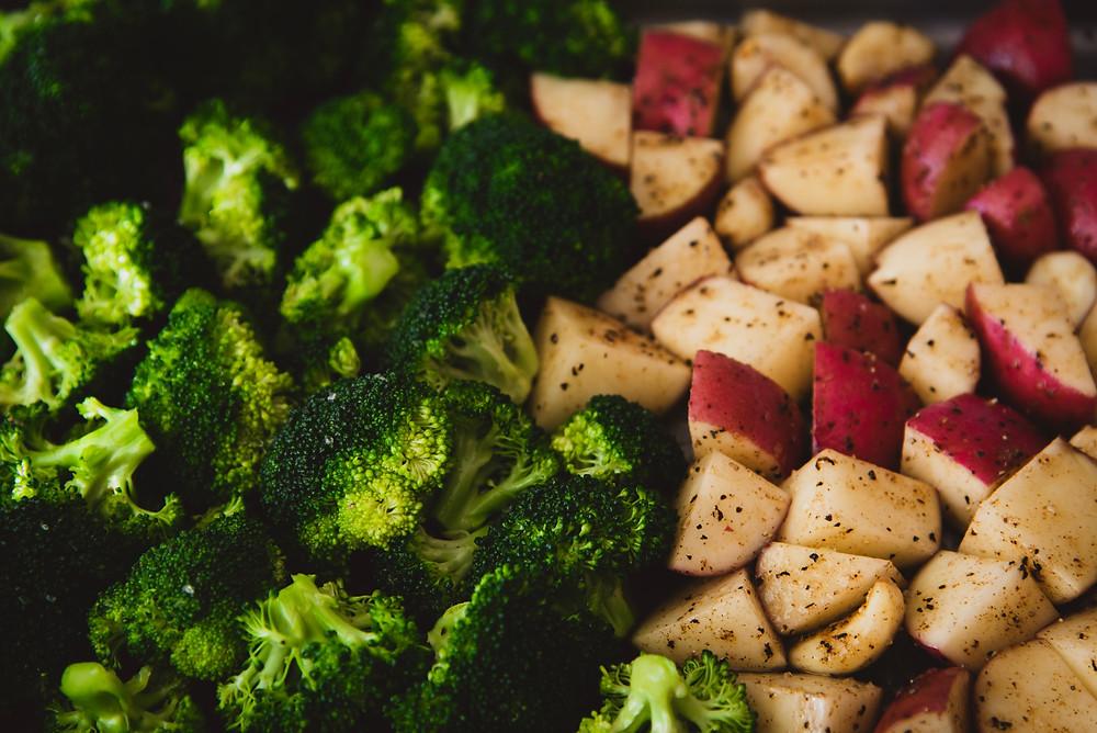 Pure vegan diet | roasted vegetables | how to make tasty Veggie BBQ ?