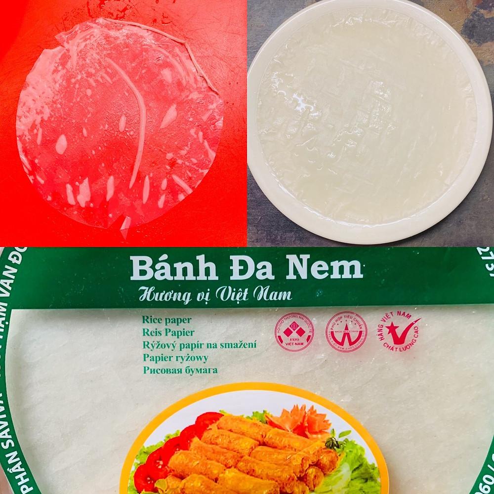 Pure vegan recipe | Classic Asian traditional cuisine, spring roll recipe