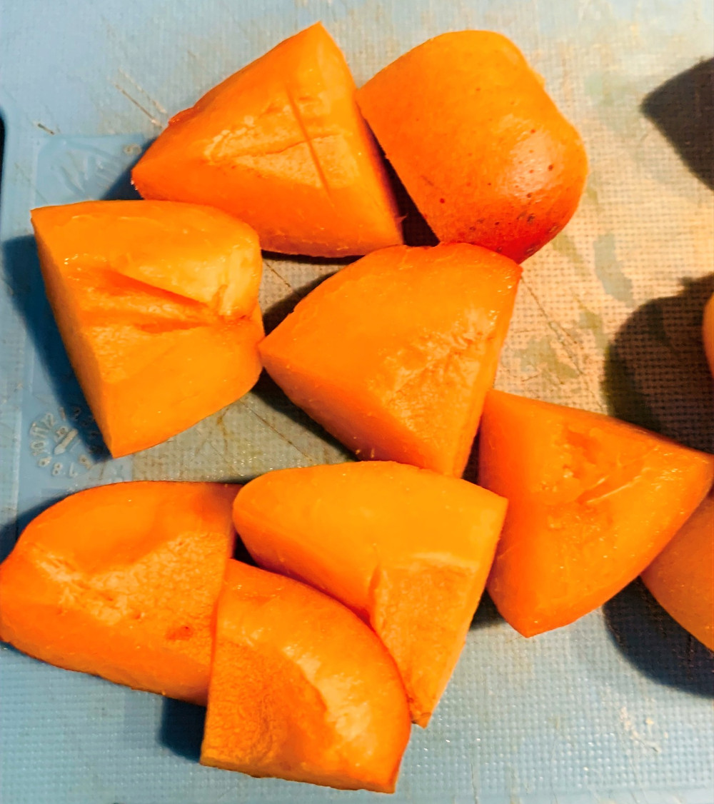Pure vegan recipe | Apricot dumpling
