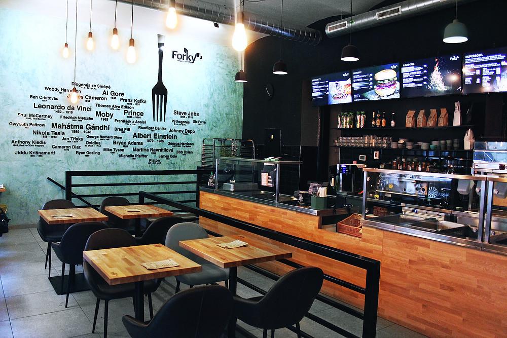 Vegan restaurant | minimalist and eco-friendly lifestyle.