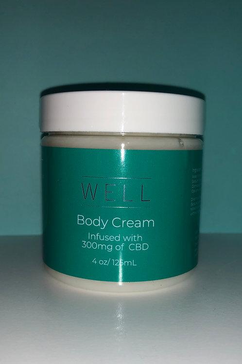 wellbody cream/infused with CBD