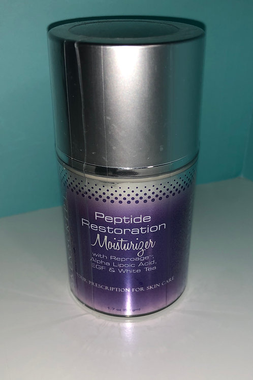 Peptide restoration moisturizer