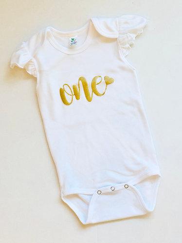 1st Birthday Onesie