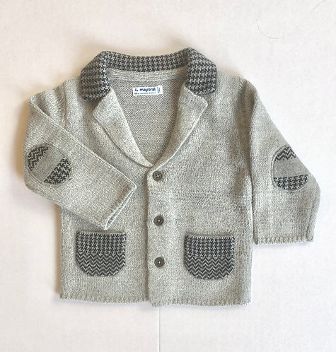Knit Patch Sweater