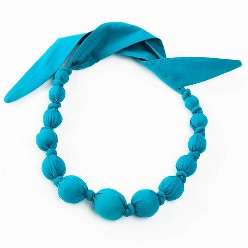 Blue Bobble Necklace