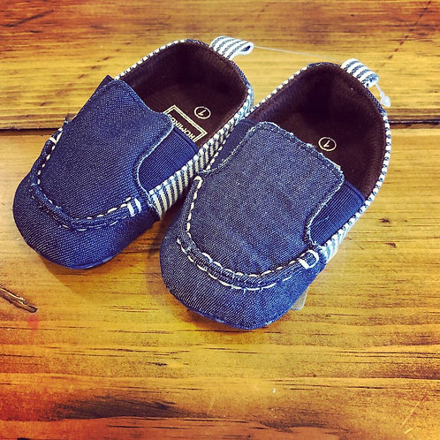 Denim slip on