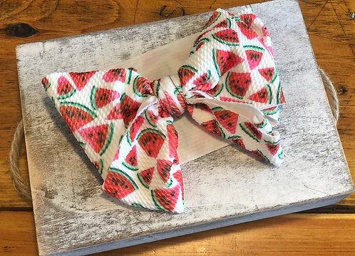 Watermelon headwrap