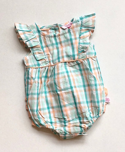 Presley Plaid romper