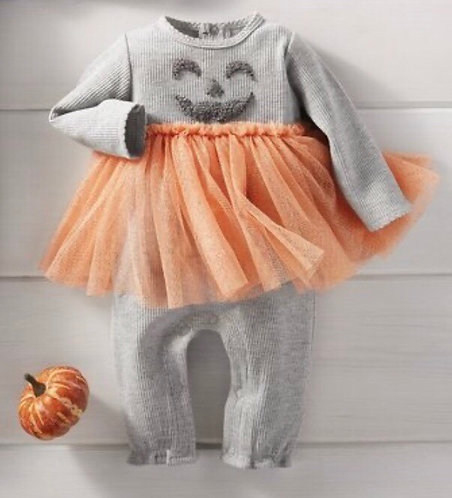 Pumpkin Tutu jumper