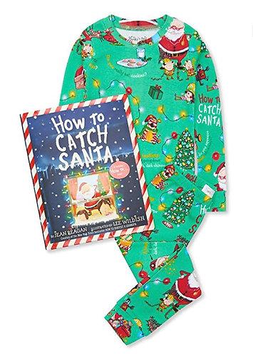 How to Catch Santa pj set