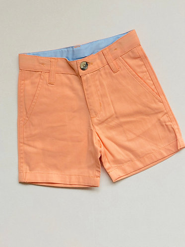 Peach Chino Shorts