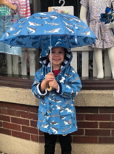 Shark Raincoat (color changing)