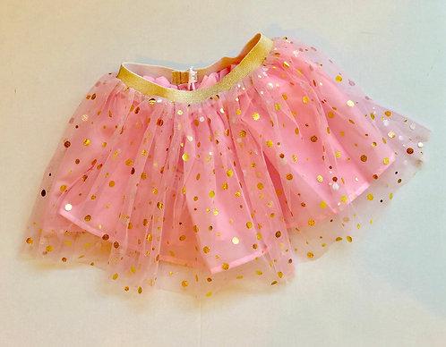 Pink shimmer skirt