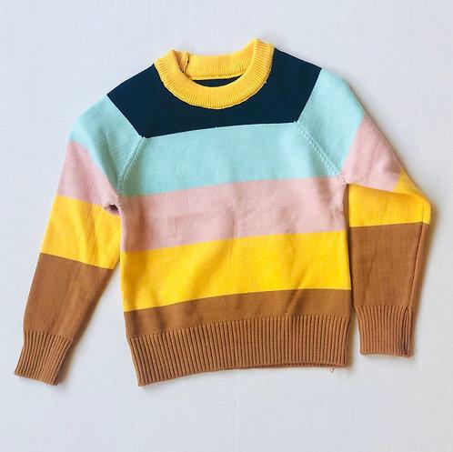 Fall Color block sweater