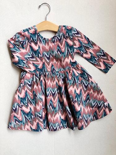 Watercolor Twirl Dress
