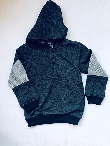Charcoal Hooded Sweatshirt