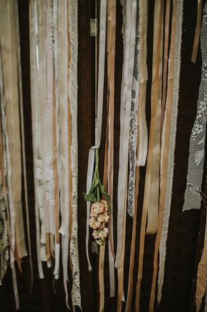 Ribbon backdrops