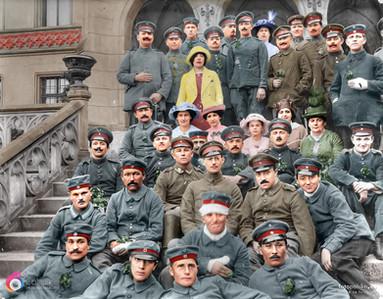 Pałac w Kopicach rok 1917?