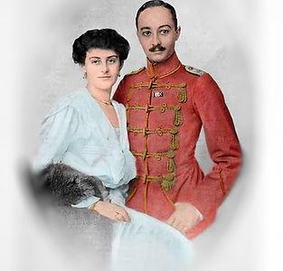 Gräfin Sophie Henckel von Donnersmarck und Hans Ulrich Graf Schaffgotsch