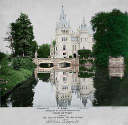 Pałac w Kopicach około roku 1875