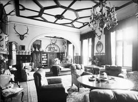 Gabinet hrabiego Hansa Ulricha Schaffgotscha (lata 30-te XX wieku).