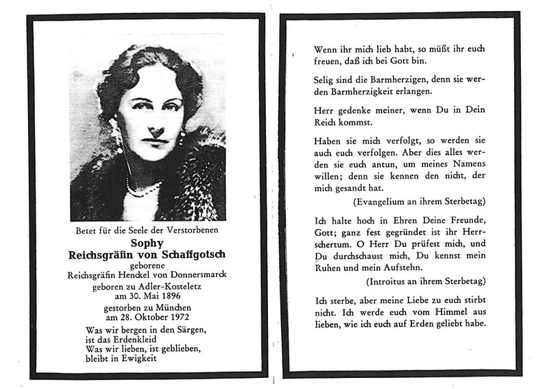 Rezydencja Joanny Schaffgotsch von Schomberg-Godulla