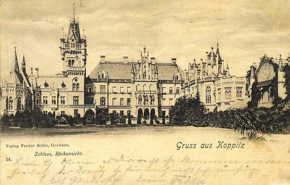 Pałac w Kopicach - Schloss Koppitz