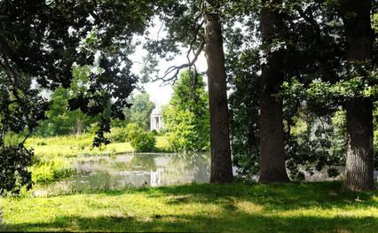 W pałacowym parku