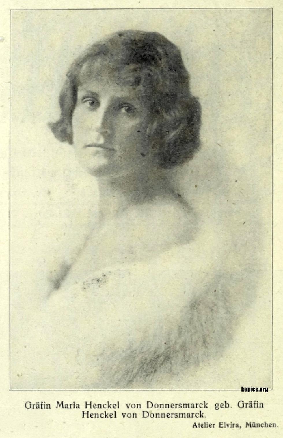 Maria Henckel von Donnersmarck 1921_tone