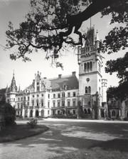 Piękny i majestatyczny pałac Schaffgotschów w czasach swojej świetności.