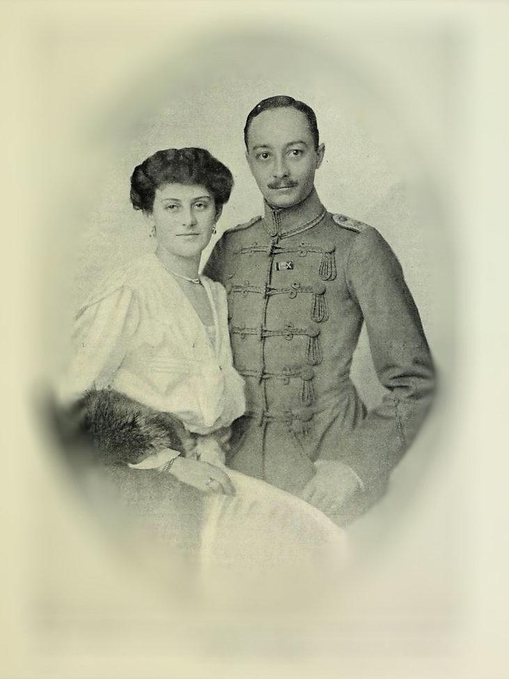 Gräfin Sophie Henckel von Donnersmarck i Hans Ulrich Graf Schaffgotsch 1918