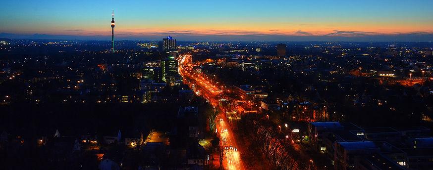 Skyline Dortmund by Night - Best of Dortmund