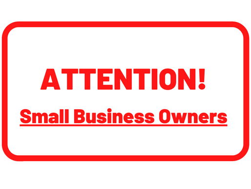 Major Announcement for Business Owners