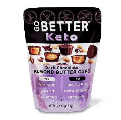 Dark Chocolate Almond Butter Cups 7.5 OZ