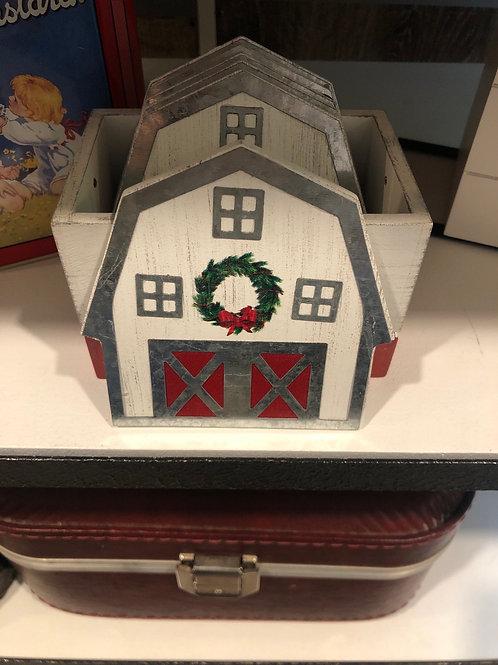 Farmhouse coaster set