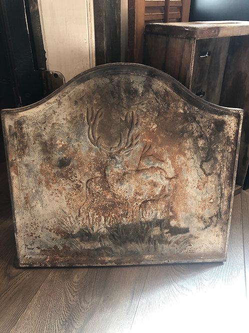 Vintage cast iron deer