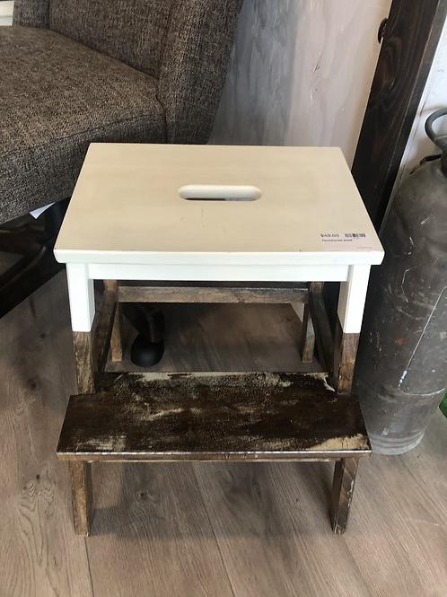 Farmhouse step stool